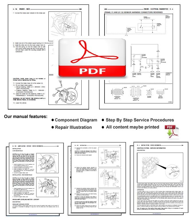 Suzuki Vz800 M50 Service Repair Shop Manual Download 2005