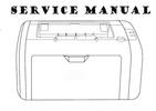 Thumbnail Hp LaserJet 1000 series Service Repair Manual