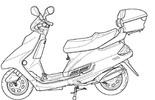 Thumbnail Geely 150cc Gy6 Qmj157 Scooter Repair Service Manual