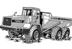 Thumbnail Terex TA35 & TA40 Articulated Dumptruck Service Repair Manual