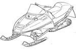 Thumbnail 2007-2010 Yamaha Apex LTX / GT Snowmobile Service Repair Manual