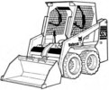 Thumbnail Bobcat 553 Skid-Steer Loader Service Repair Manual Download