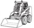 Thumbnail Bobcat 742B 743B Loader Service Repair Manual Download
