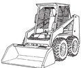 Thumbnail Bobcat 853 853H Loader Service Repair Manual Download