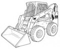 Thumbnail Bobcat A300 All-Wheel Steer Loader Service Repair Manual Download 4