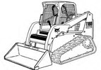 Thumbnail Bobcat T180 Compact Track Loader Service Repair Manual Download(S/N 531411001 - 531459999 531511001 - 531559999)