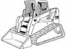 Thumbnail Bobcat T250 Compact Track Loader Service Repair Manual Download(S/N 531811001 & Above 531911001 & Above)