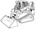 Thumbnail Bobcat T300 Compact Track Loader Service Repair Manual Download(S/N 521911001 & Above 522011001 & Above)