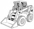 Thumbnail Bobcat S220 Skid-Steer Loader Service Repair Manual Download(S/N A5GK11001 - A5GK19999 & A5GL11001 - A5GL19999)