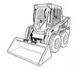 Thumbnail Bobcat S450 Skid-Steer Loader Service Repair Manual Download(S/N B1ED11001 & Above)