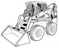 Thumbnail Bobcat S250 S300 Skid-Steer Loader Service Repair Manual Download(S/N A5GM11001 - A5GM19999 ...)