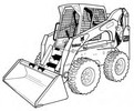 Thumbnail Bobcat S250 S300 Skid-Steer Loader Service Repair Manual Download(S/N 530911001 & Above ...)