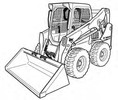 Thumbnail Bobcat S530 Skid-Steer Loader Service Repair Manual Download(S/N A7TW11001 & Above...)