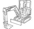 Thumbnail Bobcat X 331 Compact Excavator Service Repair Manual Download (S/N 511920001 & Above)