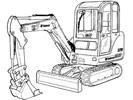 Thumbnail Bobcat 329 Compact Excavator Service Repair Manual Download