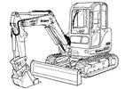 Thumbnail Bobcat 335 Compact Excavator Service Repair Manual Download
