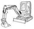 Thumbnail Bobcat 425 Compact Excavator Service Repair Manual Download(S/N A1HW11001 & Above)