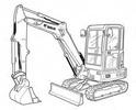 Thumbnail Bobcat E25 Compact Excavator Service Repair Manual Download(S/N AB8B11001 & Above)