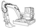 Thumbnail Bobcat 442 Compact Excavator Service Repair Manual Download(S/N 522311001 & Above ...)