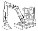 Thumbnail Bobcat E35 Compact Excavator Service Repair Manual Download(S/N A93K11001 & Above AC2P11001 & Above)