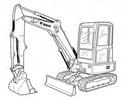 Thumbnail Bobcat E32 Compact Excavator Service Repair Manual Download(S/N B2VV11001 & Above)