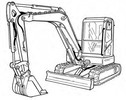 Thumbnail Bobcat E80 Excavator Service Repair Manual Download(S/N AETB11001 & Above AET311001 & Above)
