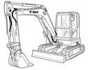 Thumbnail Bobcat E63 Compact Excavator Service Repair Manual Download(S/N B34R11001 & Above)