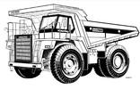 Thumbnail Komatsu HD785-5 HD985-5 Dump Truck Service Shop Manual