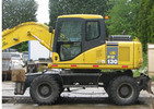 Thumbnail Komatsu PW130-7K Wheeled Excavators Service Shop Manual(SN:K40001 AND UP)