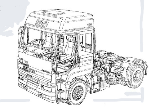 Free Iveco Stralis AT/AD/AS Electronically Controlled braking System EBS 2/ESP/EBL Repair Manual Download thumbnail