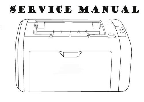 hp laserjet 1160 1320 series service repair manual
