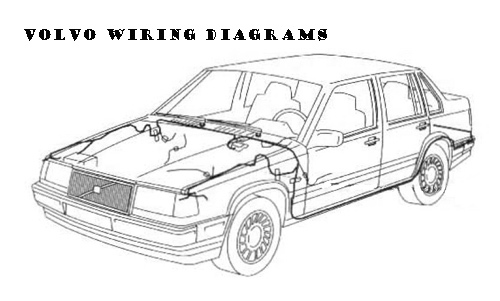 Pay for 1995 Volvo 960 Left-hand drive Wiring Diagrams Download