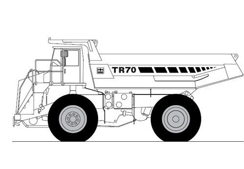 terex tr70 off highway truck service repair manual. Black Bedroom Furniture Sets. Home Design Ideas