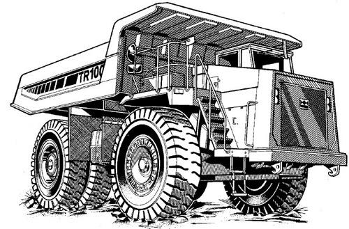 terex tr100 mining truck service repair manual download. Black Bedroom Furniture Sets. Home Design Ideas
