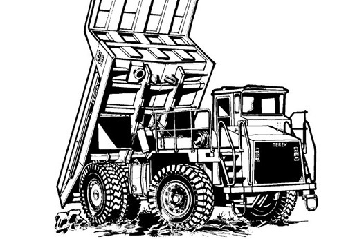 terex 3335 off highway truck service repair manual. Black Bedroom Furniture Sets. Home Design Ideas