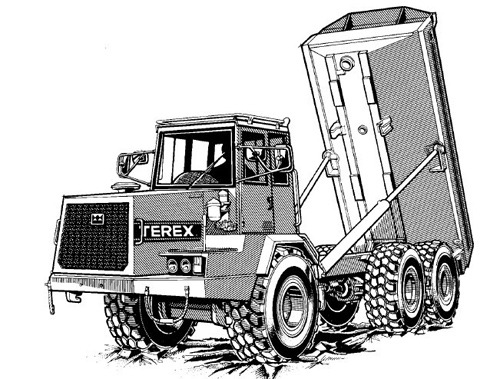 pay for terex 2566c 2766c and 3066c articulated dumptruck. Black Bedroom Furniture Sets. Home Design Ideas
