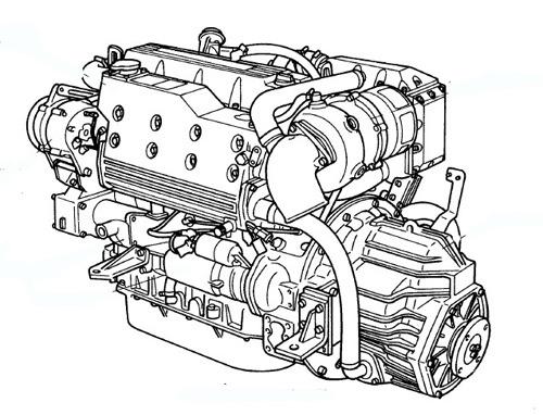 yanmar marine diesel engine 4lha stze  stp  stzp 4lha
