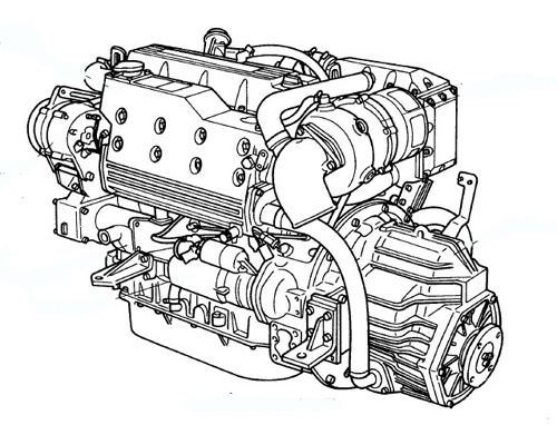 Free Yanmar Marine Diesel Engine 4LH Series Service Repair Manual Download thumbnail