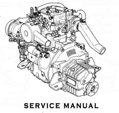 yanmar marine diesel engine 2qm15 service repair manual