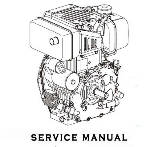 Yanmar Ts190 R  Ts230 R  Series Engines Service Repair