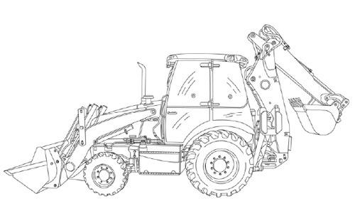 Case 580 Super E Loader Backhoe Service Repair Manual
