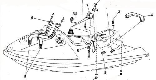 yamaha waverunner wb800 service repair manual download
