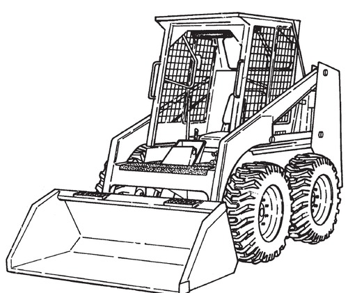 Bobcat 641 642 643 Loaders Service Repair Manual Download