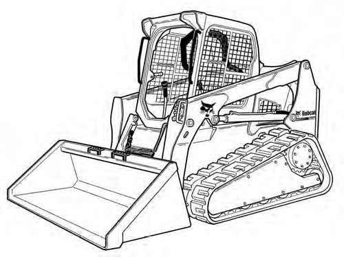 Bobcat T590 Compact Track Loader Service Repair Manual Downloadsn