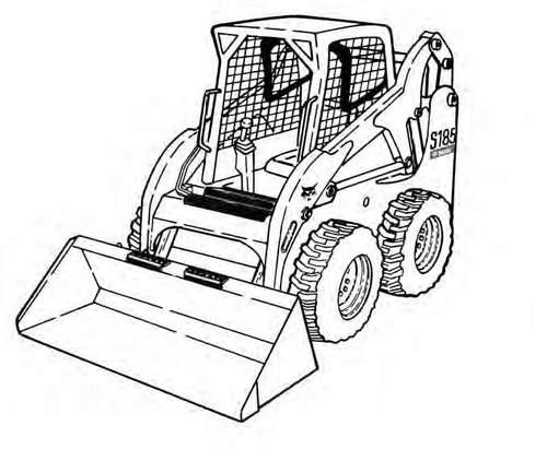 Bobcat S185 Skid-Steer Loader Service Repair Manual Download(S/N A3L911001  & Above    )