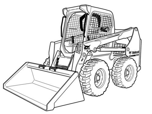 Bobcat S590 Skid Steer Loader Service Repair Manual Downloadsn Ar