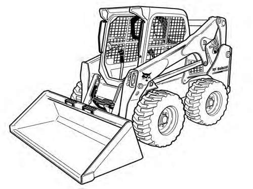 Bobcat S750 Skid Steer Loader Service Repair Manual Downloadsn At