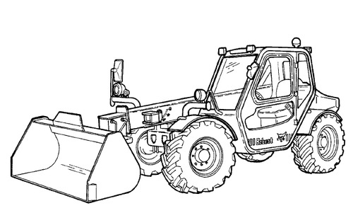 Bobcat V518 Versahandler Service Repair Manual Downloadsn 3670110