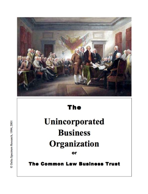 Pay for Unincorporated Business Trust
