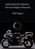 Thumbnail 2004 Ducati 999-R-S Service Repair Manual
